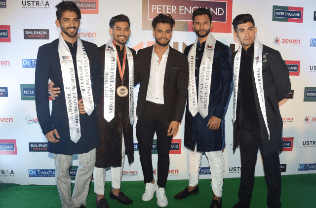 Peter England Mr India 2017 finalists